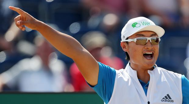 Li Haotong has a three-shot lead after 54 holes of the Turkish Airlines Open (Richard Sellers/PA)
