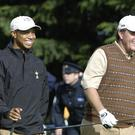 Tiger Woods and Phil Mickelson are set to go head-to-head in Las Vegas (Rebecca Naden/PA)