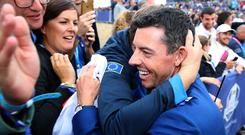 Rory McIlroy, pictured, is expected to play the Ryder Cup in 2020 by Padraig Harrington (Adam Davy/PA)