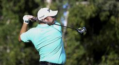Shane Lowry carded a 10-under 62 in the first round of the Abu Dhabi HSBC Championship (Martin Dokoupil/AP).