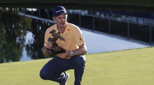 Justin Rose won for the 10th time on the PGA Tour with victory in the Farmers Insurance Open (Gregory Bull/AP).