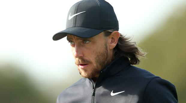 England's Tommy Fleetwood shares the halfway lead at Bay Hill (Steven Paston/PA)