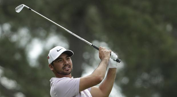 Jason Day overcame back problems to remain in contention at the 83rd Masters (Chris Carlson/AP)