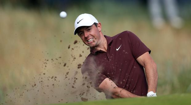 Rory McIlroy carded a second consecutive 71 in the 83rd Masters (David Davies/PA)