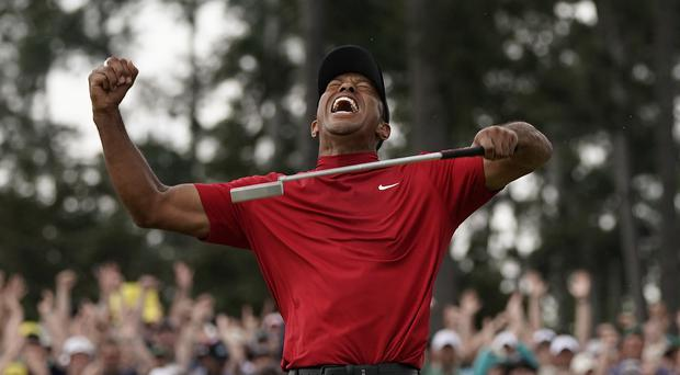Tiger Woods is the Masters champion again (David J. Phillip/AP)