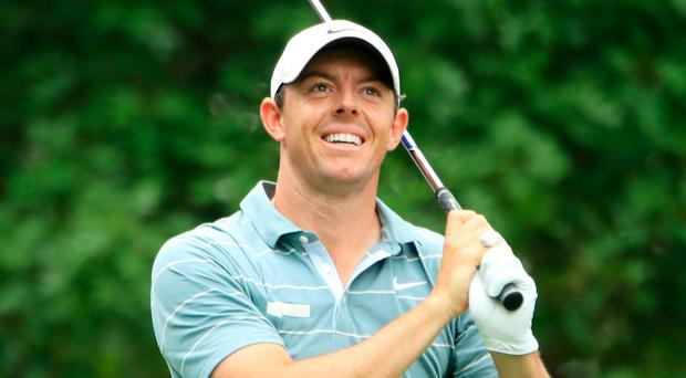 Testing time: Rory McIlroy couldn't find any momentum