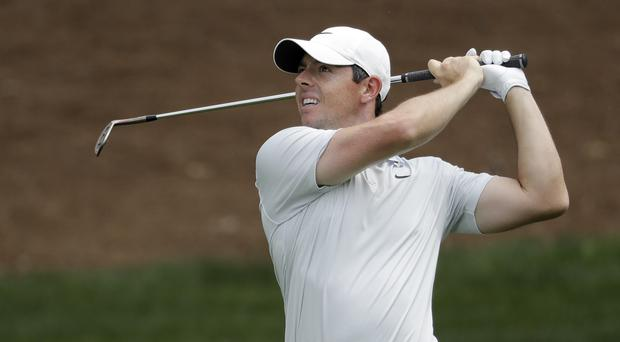 Rory McIlroy shot a third-round 68 at the Wells Fargo Championship (Chuck Burton/AP)