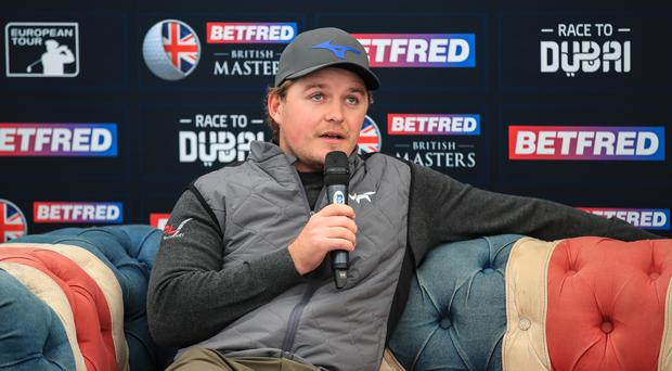 Eddie Pepperell will defend his title in the British Masters at Hillside. (Peter Byrne/PA)