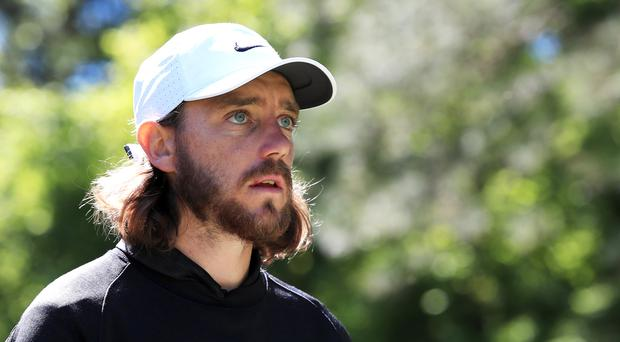 Tommy Fleetwood is seeking a first major title in the US PGA Championship (Peter Byrne/PA)