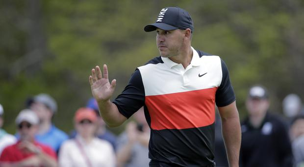 Brooks Koepka set a new course record with a stunning 63 at Bethpage (AP Photo/Seth Wenig)