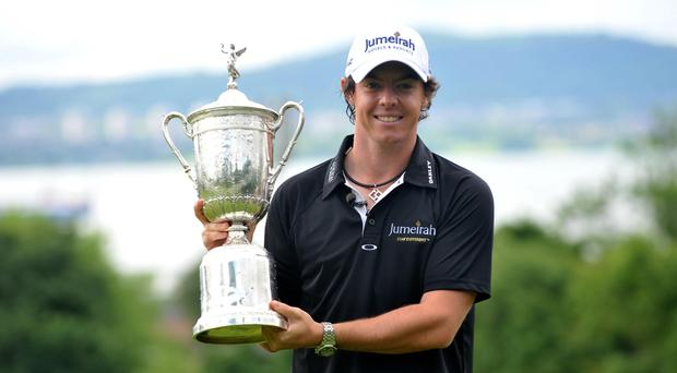 """Former US Open champion Rory McIlroy believes the USGA should be given the chance to """"redeem themselves"""" (Stephen Wilson/PA)"""