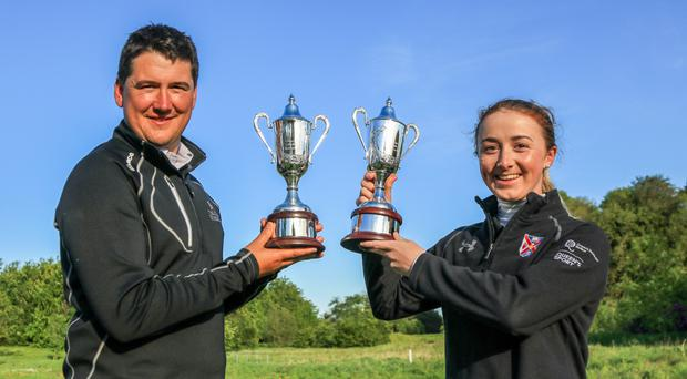 Winners: Colm Campbell and Jessica Ross