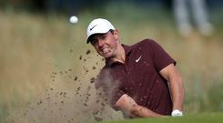 Rory McIlroy is hoping for a strong start at the year's third major championship (David Davies/PA)
