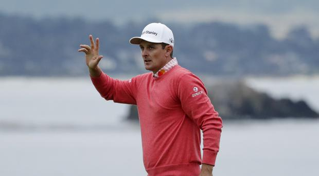 Justin Rose claimed the outright lead after day one of the US Open (AP Photo/Matt York)