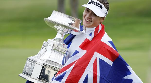 Hannah Green won the Women's PGA Championship (Charlie Neibergall/AP)