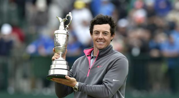 Rory McIlroy would love to win a second Open Championship on home soil at Royal Portrush (Owen Humphreys/PA)