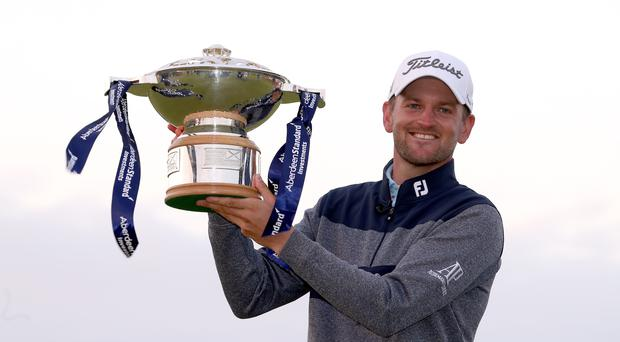 Bernd Wiesberger came through a play-off to claim the title (Jane Barlow/PA)
