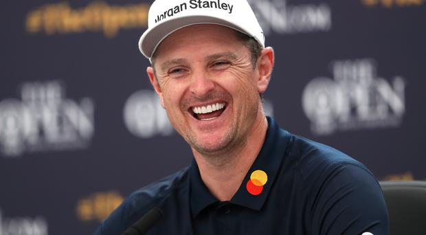 Justin Rose's son has been gripped by England's Cricket World Cup triumph (David Davies/PA)