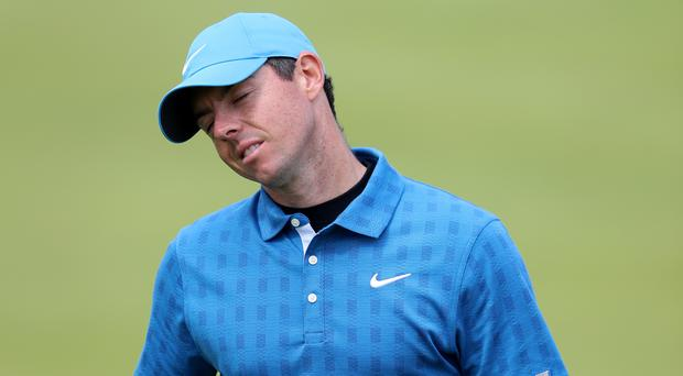 Rory McIlroy had a nightmare start to the 148th Open (David Davies/PA)
