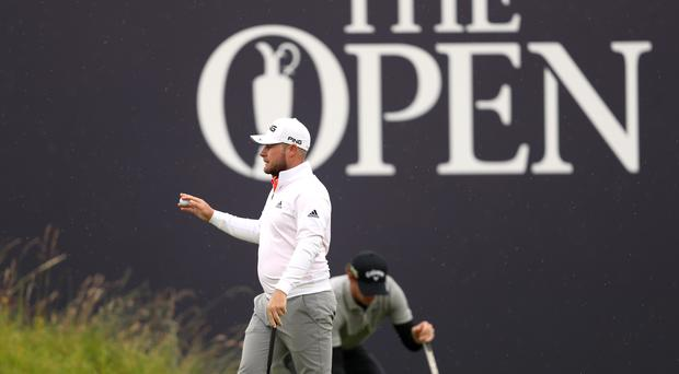 Tyrrell Hatton moved up the leaderboard (David Davies/PA)