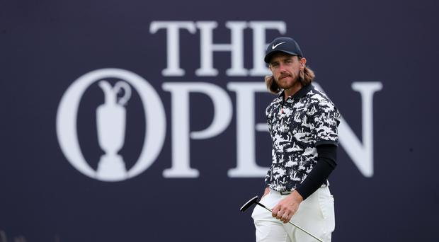 Tommy Fleetwood climbed the leaderboard on day two at Royal Portrush (Niall Carson/PA)