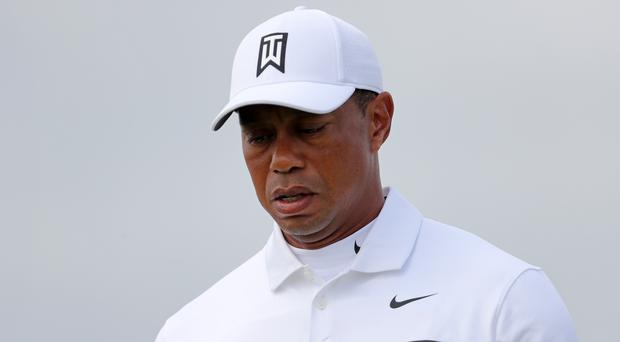 Tiger Woods will not be adding to his major collection at the Open (Richard Sellers/PA)
