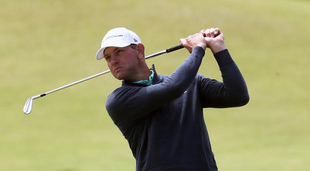 Lucas Glover moved to within four of the lead (Niall Carson/PA)