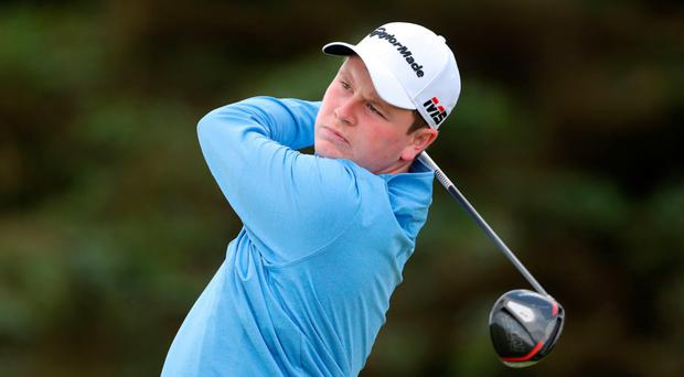Job done: Bob MacIntyre will be invited back to The Open