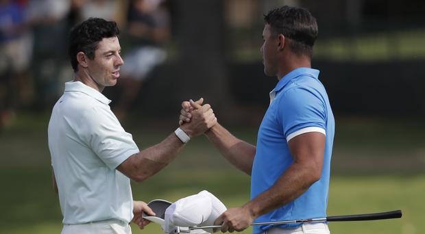 Rory McIlroy and Brooks Koepka's love for one another is not at risk.