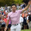 Rory McIlroy won the Tour Championship (John Amis/AP)