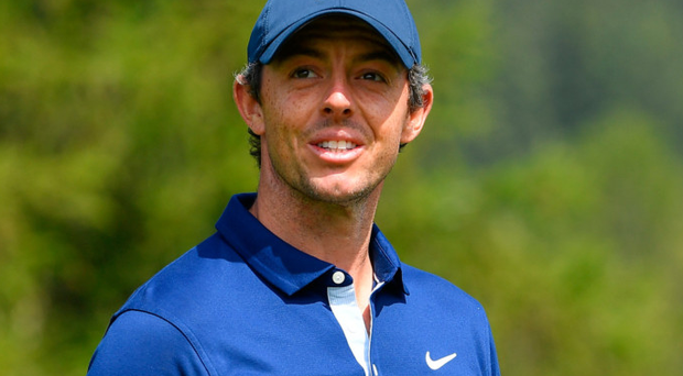 Upbeat: Rory McIlroy has faith he will end his Major drought