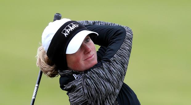 Stacy Lewis has pulled out of the competition at Gleneagles (Jane Barlow/PA)