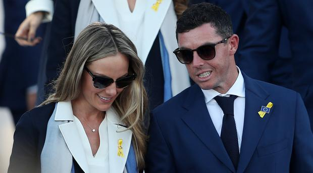 Rory McIlroy's wife Erica Stoll helped persuade him to return to the European Tour (David Davies/PA)