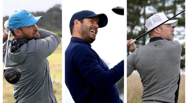 Justin Timberlake, Jamie Redknapp and Ronan Keating were among the participants in the Alfred Dunhill Championships (Jane Barlow/PA)