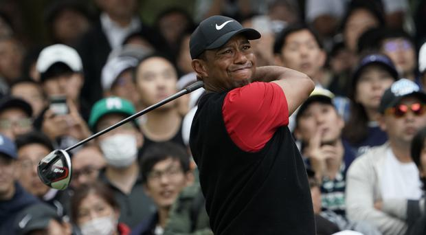 Tiger Woods has claimed a record-equalling number of PGA wins (Lee Jin-man/AP)