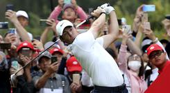 Rory McIlroy triumphed in Shanghai (Ng Han Guan/AP)