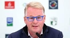 European Tour chief executive Keith Pelley gave a wide-ranging interview to the PA news agency (Niall Carson/PA)