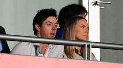Rory McIlroy's wife Erica Stoll had a surprise in store following his win in China (Adam Davy/PA)