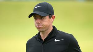 Rory McIlroy struggled in the first round of the BMW Open