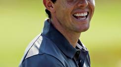 Football fan: Rory McIlroy