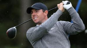 Rory McIlroy is seeking an overdue first win in the Abu Dhabi HSBC Championship (Niall Carson/PA)