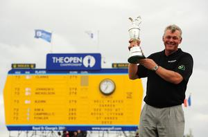 Darren Clarke claimed his first major title at the 2011 Open (Owen Humphreys/PA)