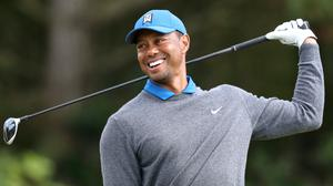 Tiger Woods will play on the PGA Tour next week for the first time in five months (Niall Carson/PA)