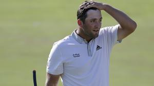 Jon Rahm could move to world number one (AP Photo/Darron Cummings)