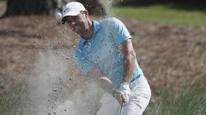 Rory McIlroy felt it was inevitable someone on the PGA tour was going to contract coronavirus (Gerry Broome/AP)