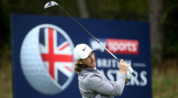 Tommy Fleetwood hosts the British Masters at Hillside this week (Steven Paston/PA)