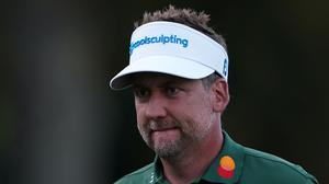 Ian Poulter is tied for the lead after the first round (Tess Derry/PA)