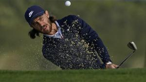 Tommy Fleetwood moved into contention after a stunning second round at Harding Park (Jeff Chiu/AP).