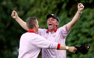 Darren Clarke won all three of the matches he played at the 2006 Ryder Cup, just six weeks after the passing of his wife Heather.