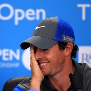 Northern Ireland's Rory McIlroy is not worrying about what Friday will bring after shooting a six-under-par 66 at the 143rd Open Championship